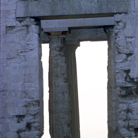 Greece Turkey 1973 - The Acropolis in Athens has looked down from above the city for many centuries.