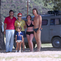 Greece Turkey 1973 - The beaches of the peninsula of Sithonia were totally undeveloped and one just camped next to the water. A food van would come past every few days.