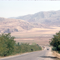 Greece Turkey 1973 - Driving east, we enter the wild country towards Samsun on the Black Sea Coast.