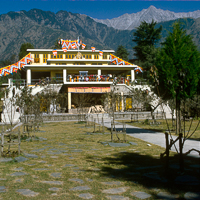 India 1973 - India 1973 - In and around MacLoud Ganj. The Dalai Lamas temple has expanded so much since this photo was taken it is almost unrecognisable today (2014)