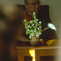 India 1973 - India 1973 - In and around MacLoud Ganj. Geshe La gave dharma teaching to travellers at the request of the Dalai Lama.