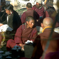India 1973 - India 1973 - In and around MacLoud Ganj. Nomads from Dolpo gather to wait for the return of the Dalai Lama.