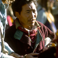 India 1973 - India 1973 - In and around MacLoud Ganj. The Dalai Lama had taken his first overseas trip to Europe since leaving Tibet. There was a great sense of expectation and celebration on the day of his return.