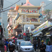 India 2013 Favourites - MacLoud Ganj - home of the Dalai Lama and the Tibetan government in exile