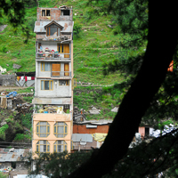 India 2013 Favourites - Old Manali - someone's castle and still going up.