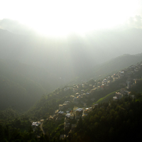 India 2013 Favourites - Shimla - Our last afternoon and the light is stunning.