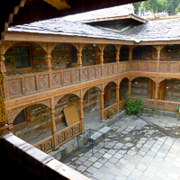 India 2013 Favourites - Naggar - Naggar Castle - 600 years old and now a boutique hotel