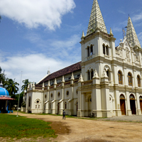 India 2013 Favourites - Fort Kochi - on the tourist route but a bit jaded these days. The magnificent Santa Cruz Basilica is an exception.