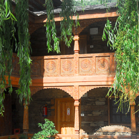 India 2013 The Story - Naggar - Naggar Castle - 600 years old and now a boutique hotel