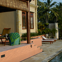 Bali 2005 - The losman of early visits to Bali have been replace by luxury villas.
