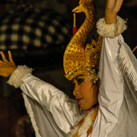 Bali 2005 - The local village has it's own dance.
