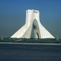 Iran 1973 - Iran 1973 THe monument in the centre of Tehran.
